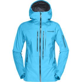 Norrøna W's Lofoten Gore-Tex Pro Jacket Caribbean blue